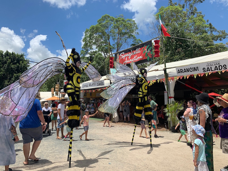 Giant stilt walking Bees
